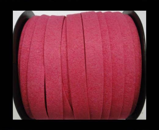 Flat Suede Cord - 10 mm - Fuchsia
