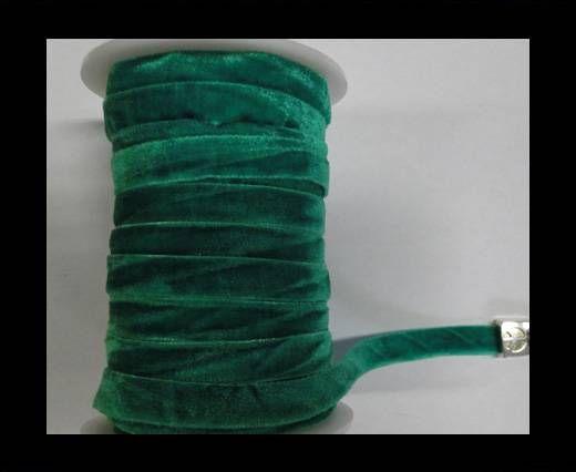 Flat Velvet Cords-10mm-Green