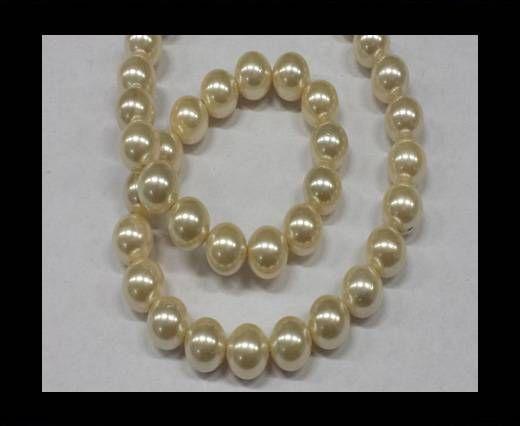 High quality pearls 10 mm Cream