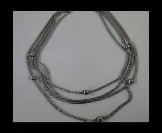 High Quality Steel Neclace-number 17