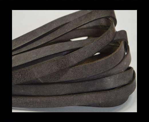 Flat Leather-Vintage Brown