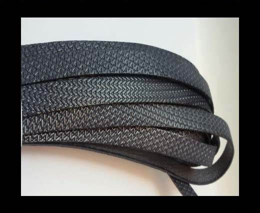 Design Embossed Leather Cord - 10mm - Style 9