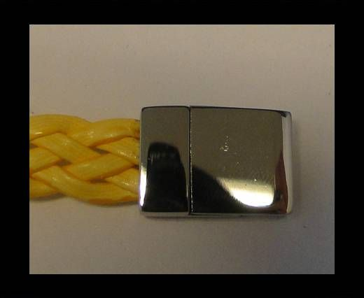 Stainless Steel Magnetic Clasp,Steel,MGST-76-10*2,5mm