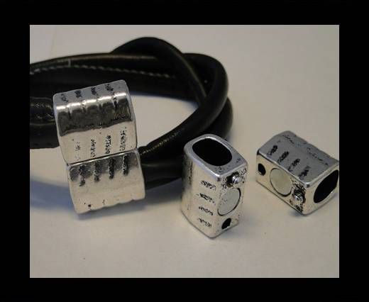 Locks for leather/Cords-ZAML-71-10*7mm
