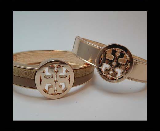 Zamak magnetic claps MGL-385-10mm-Rose Gold