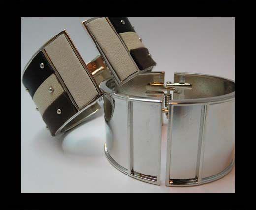 Zamak magnetic claps MGL-387-30mm-Steel