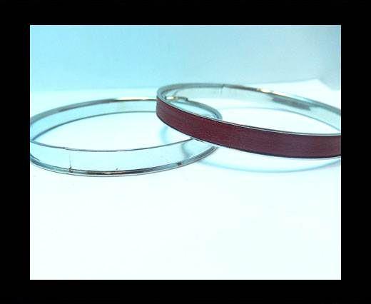 Zamak magnetic claps MGL-400 - 5mm - Steel