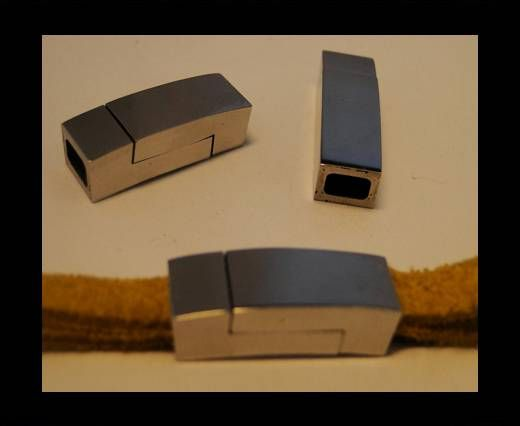 Stainless Steel Magnetic Clasp,Steel,MGST-102