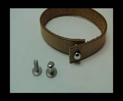 Stainless Steel Anchor Clasp,Steel,MGST-213-8*7*1mm