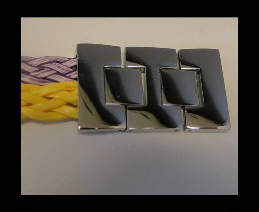 Stainless Steel Snap Lock - MGST-75-20.5*3.5mm-Steel
