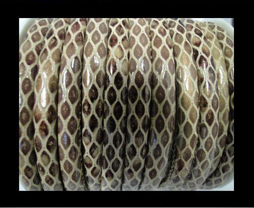 Eco-Nappa 4mm Snake-Style-Cream