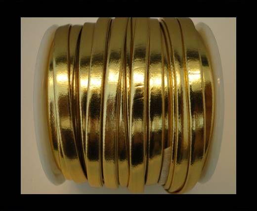 Nappa Flat PU -Gold-5mm