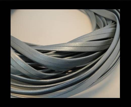 Nappa Leather Flat -Light Silver-5mm