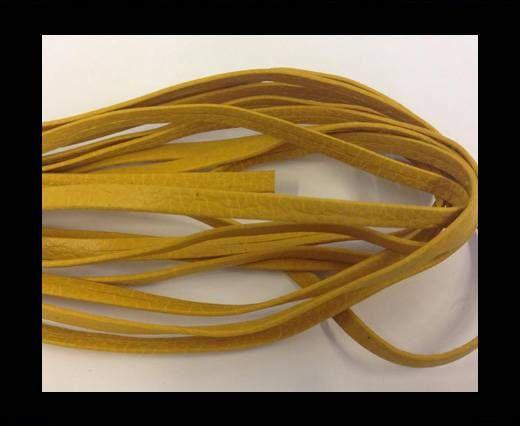Nappa Leather Flat -pastel yellow -5mm