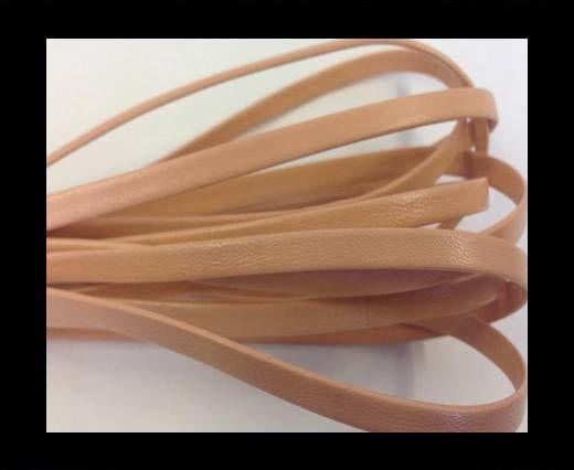 Nappa Leather Flat -peach-5mm