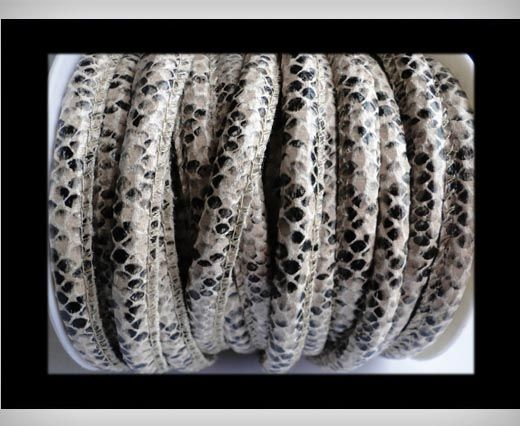 Eco-Nappa 6mm Snake-Style -Cream