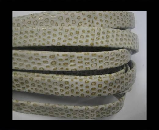 NappaFlat-Snake Style-10mm-ocher