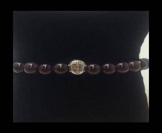 Natural Stone Bracelet 15 Amethyst