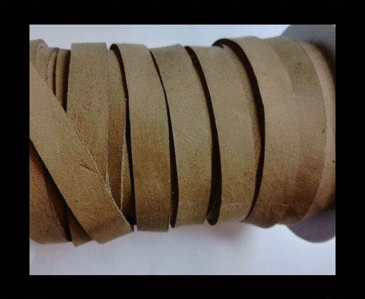 Nubuck Flat - 10mm - LIGHT BROWN