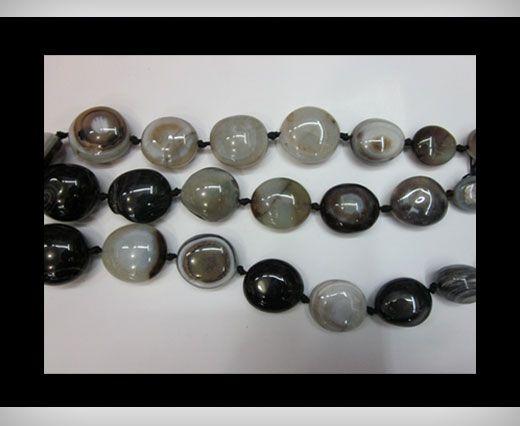 Orbicular Granate Agate NS-088