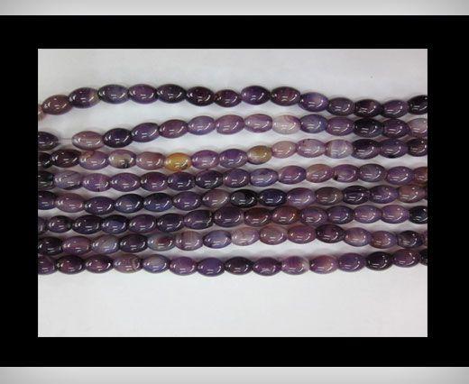Purple Blue  Agate NS-058