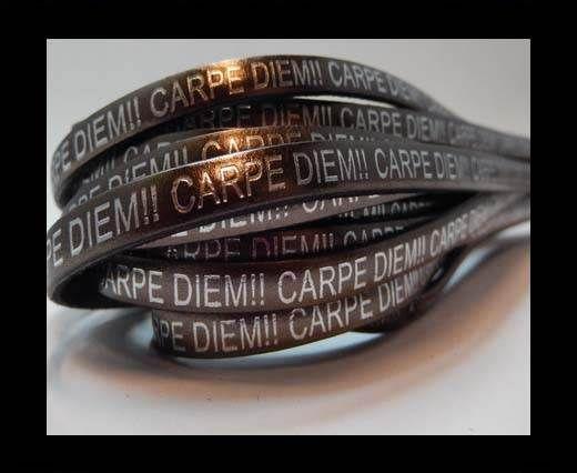Real Flat Leather-CARPIDIEM-peltro