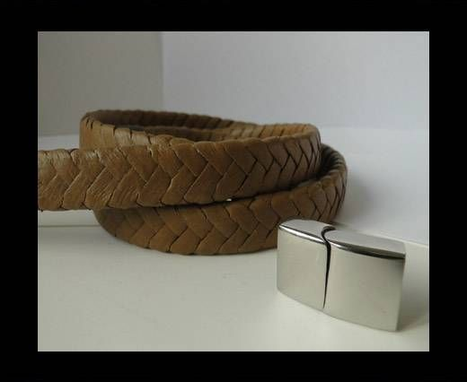 Real Nappa Flat Woven Cords - 15 mm - Saddlery