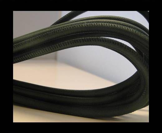 Real Nappa Round-Snake Green-6mm