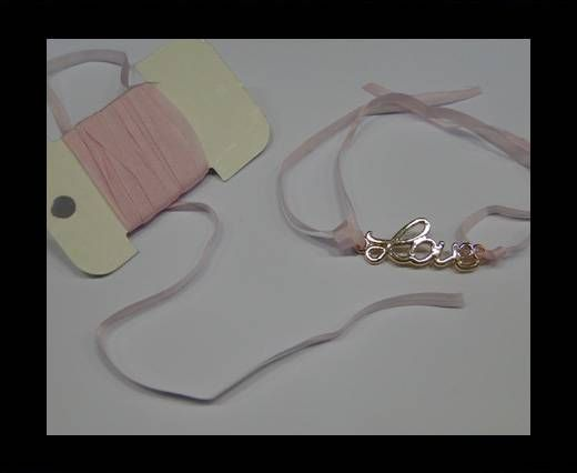 Real Silk Ribbons -A 050- Light Pink - 4mm