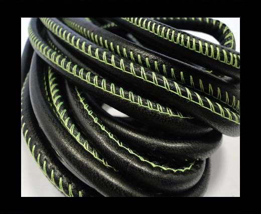 RNL - Contrast Stitches - Black - 6 mm