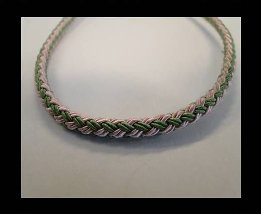 Round-Braid-Cotton-Green & Pink