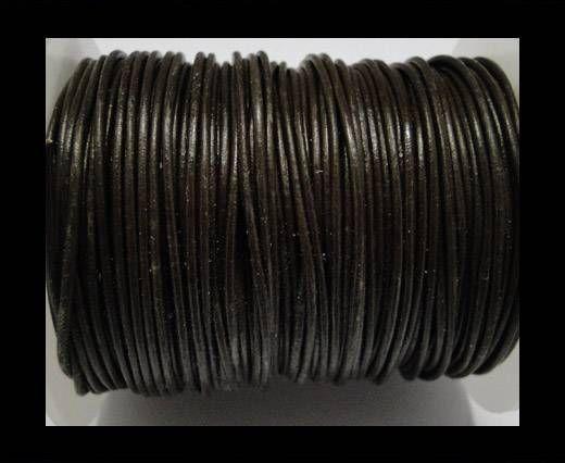 Cordoncino di cuoio SE-Marrone - 1mm