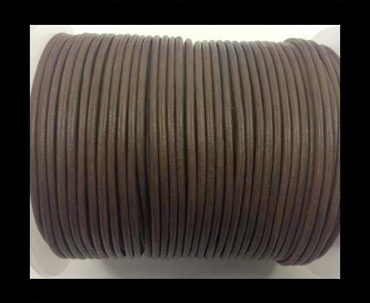 Cordón de cuero - Topo - 1.5mm