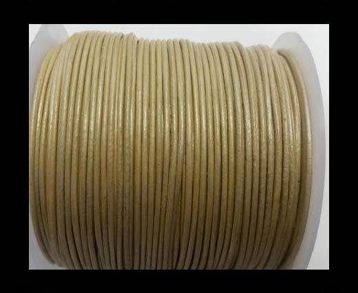 Round Leather Cord -1mm- SE M.Pastel Cream