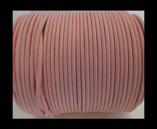 Round Leather Cord -1mm- SE R Baby Pink