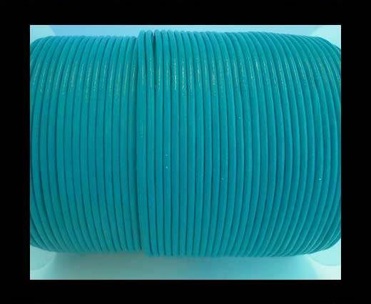 Round Leather Cord 4mm- SE R 23 Sea Blue