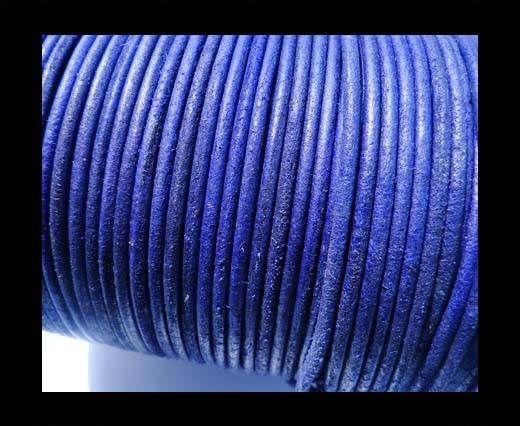 Round Leather Cord 4mm- SE R Vintage Purple