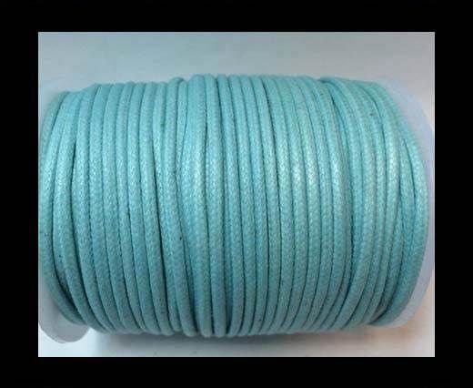 Round Wax Cotton Cords - 2mm - Aquatin
