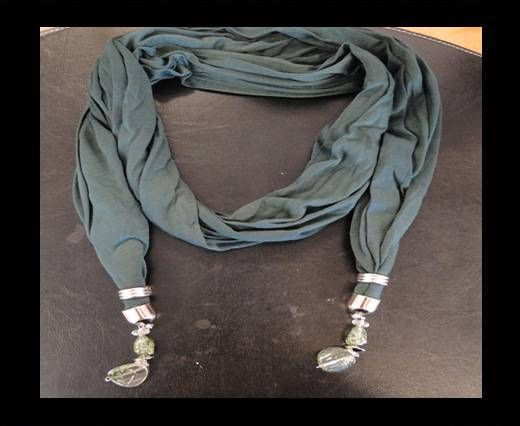 Scarf With Beads Style11-Toupe