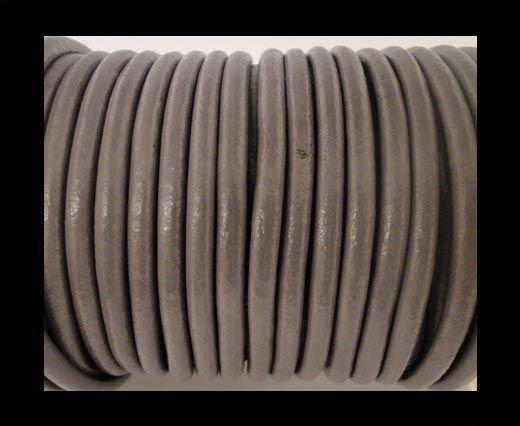 Round Leather Cord SE-  Light Purple-4mm