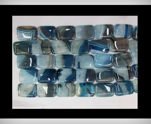 Shaded Blue Agate NS-073