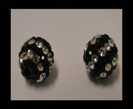 Shamballa-10mm-Circle-Black