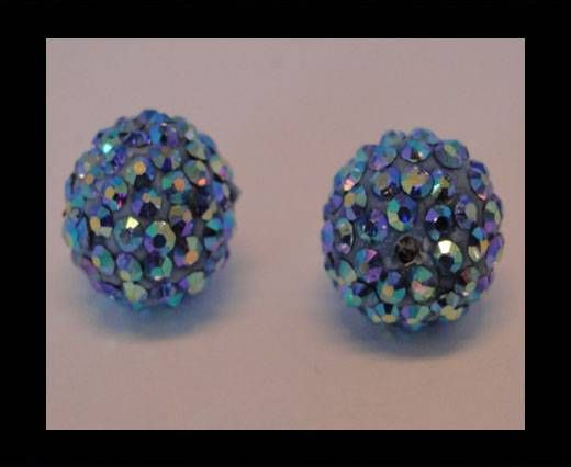 Shamballa-Bead-12mm-Light Saphire AB