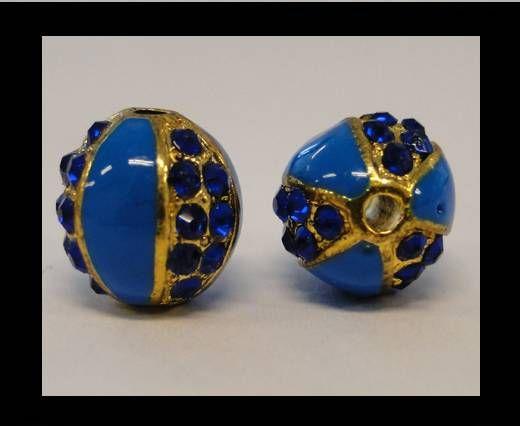 Shamballa-CA-4242 -Gold Blue