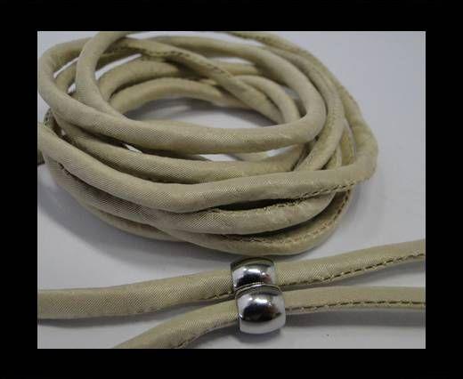 Cordones de seda rellenos de algodón - 4mm - Biscotti