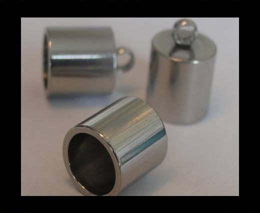 Stainless steel end cap SSP-195-8mm