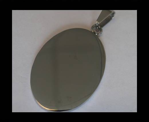 Stainless steel pendant SSP-199-25-BY-35mm