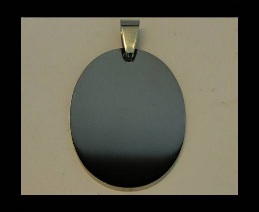Stainless steel pendant SSP-211-25*35mm-Silver