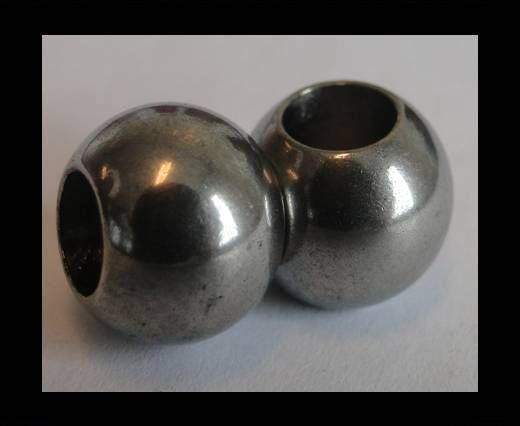 Stainless steel part for leather SSP-216-6mm