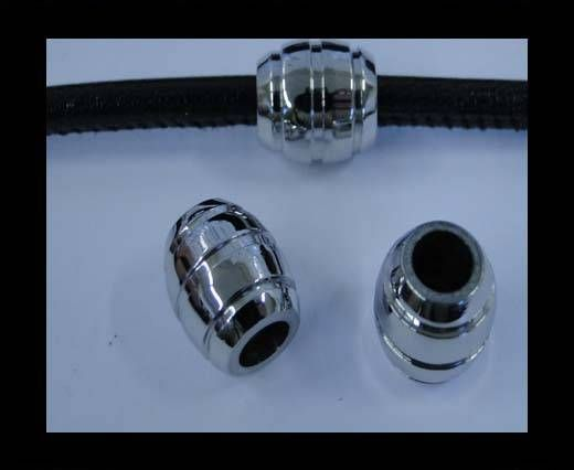 Stainless steel part for round leather SSP-234-5MM
